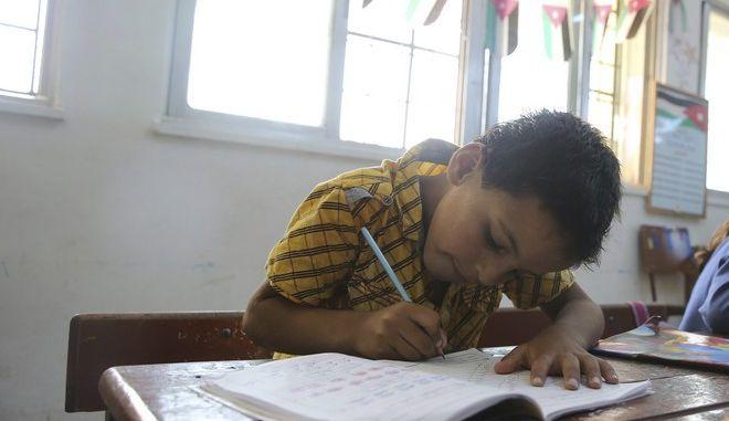 Μαθητής δημοτικού στην Τουρκία