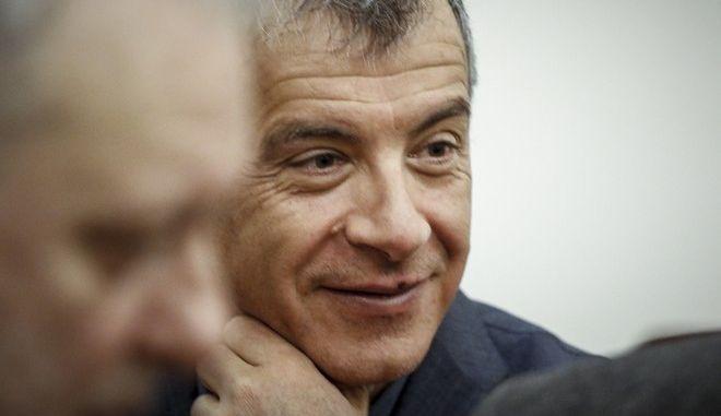 O επικεφαλής του Ποταμιού, Σ.Θεοδωράκης