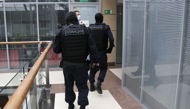 Αστυνομικοί στη Μόσχα. Φωτο αρχείου.