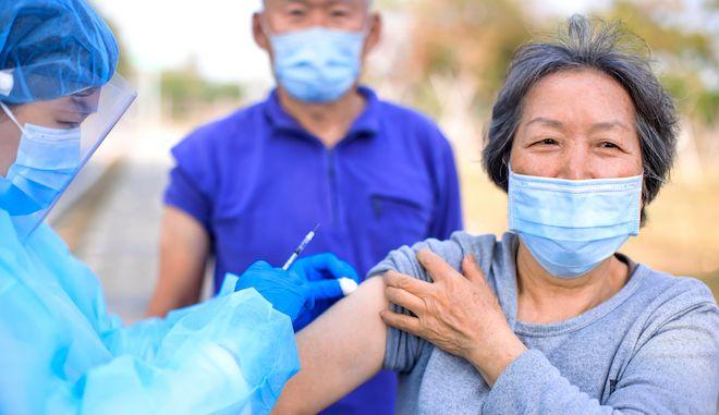 Εμβολιασμός ηλικιωμένων