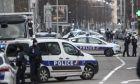 Περιπολικά της γαλλικής αστυνομίας στο Στρασβούργο