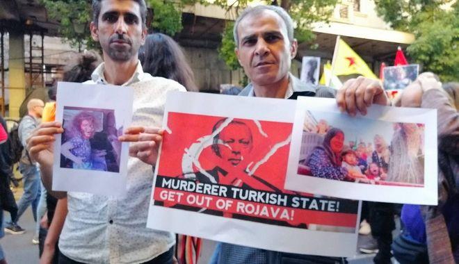 Μεγάλη πορεία αλληλεγγύης στους Κούρδους