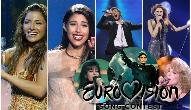 Οι ελληνικές συμμετοχές στο διαγωνισμό της Eurovision από το 1974 ως και σήμερα