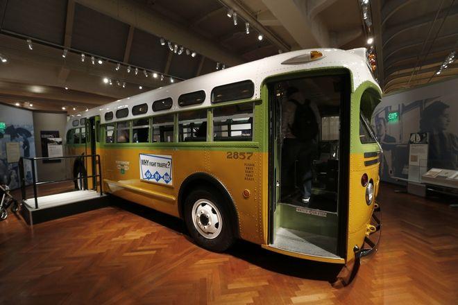 Το λεωφορείο όπου η Ρόζα Παρκς αρνήθηκε να παραχωρήσει τη θέση της σε λευκό άνδρα