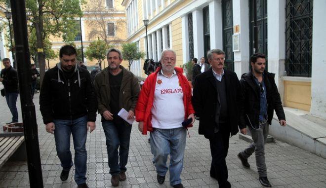 ΑΘΗΝΑ-ΔΙΚΑΣΤΗΡΙΑ-Συνελήφθησαν Σ. Εμμανουήλ και Ι. Μπέλτσιος για τα εξοπλιστικά προγράμματα.(EUROKINISSI-ΚΩΣΤΑΣ ΚΑΤΩΜΕΡΗΣ)