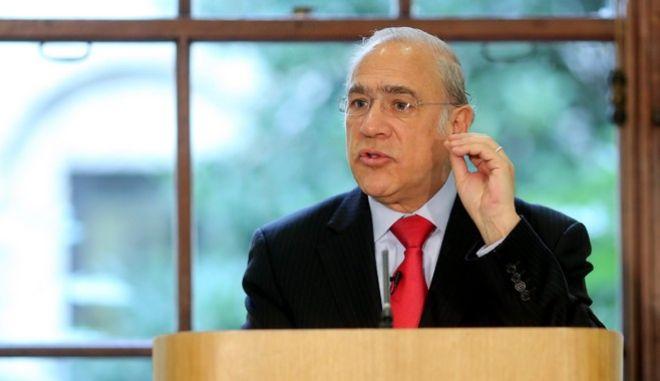 Ο ΓΓ του ΟΟΣΑ, Άνχελ Γκουρία.