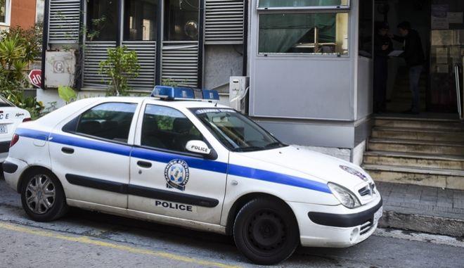 Αστυνομικό τμήμα Αμπελοκήπων, Δευτέρα 26/2/2018. (EUROKINISSI)