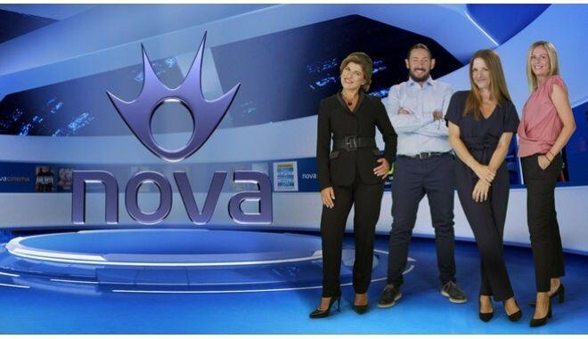 Στη νέα τηλεοπτική εποχή… ασφαλώς Nova!
