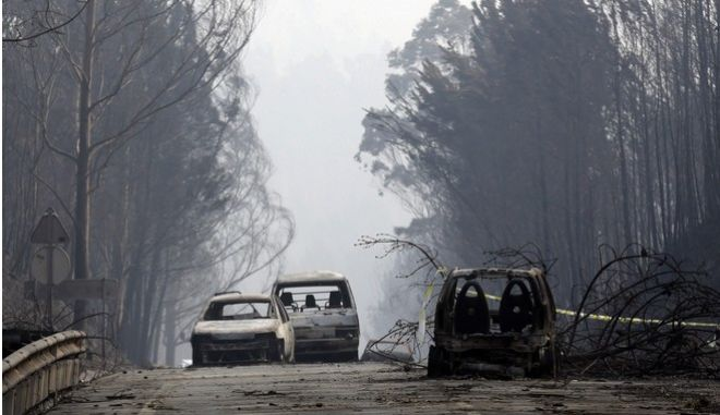 Τριήμερο εθνικό πένθος στην Πορτογαλία. Μαίνεται εκτός ελέγχου η φωτιά