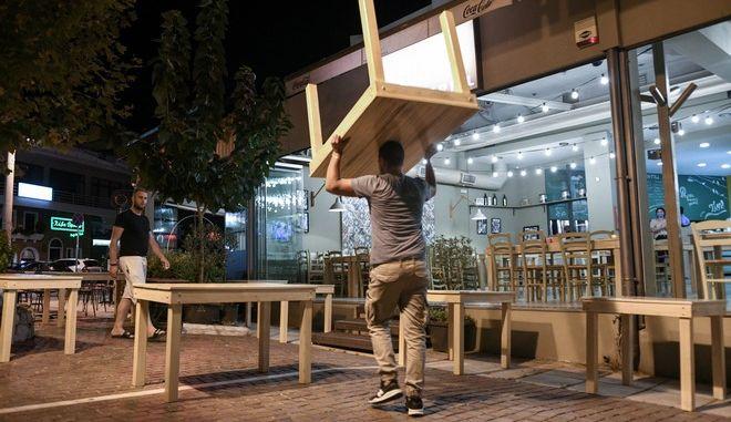 Κλειστά καταστήματα εστίασης στην Αθήνα