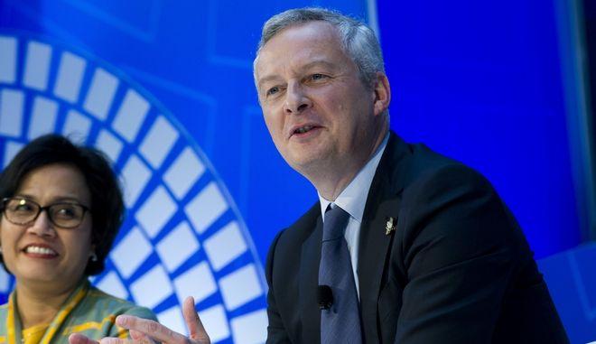 Μια 'μεγάλη χώρα' θέλει να δει την ευρωζώνη ο Λεμέρ