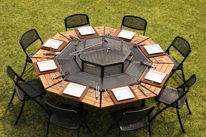 Αυτό το τραπέζι-ψησταριά είναι ό,τι πρέπει για Ελλάδα