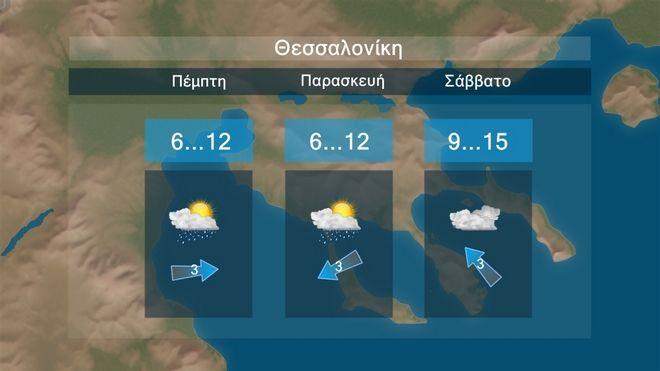 Καιρός: Βελτιώνεται σταδιακά από την Παρασκευή - Ανεβαίνει η θερμοκρασία το Σάββατο