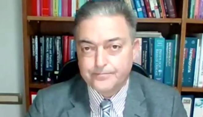 Βασιλακόπουλος για ανεμβολίαστους: Αν ο ιός βρει χώρο, τα πιο μεταλλαγμένα στελέχη θα εισχωρήσουν