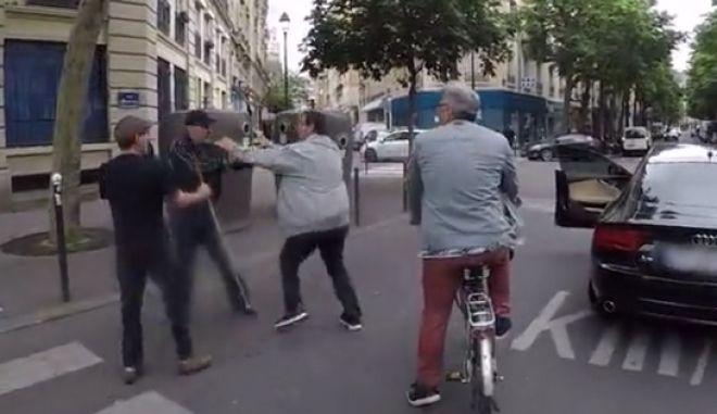 Στιγμιότυπο από το επίμαχο βίντεο