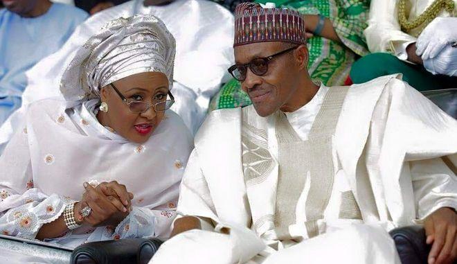 Δημόσιο 'ξεκατίνιασμα' για το προεδρικό ζεύγος της Νιγηρίας