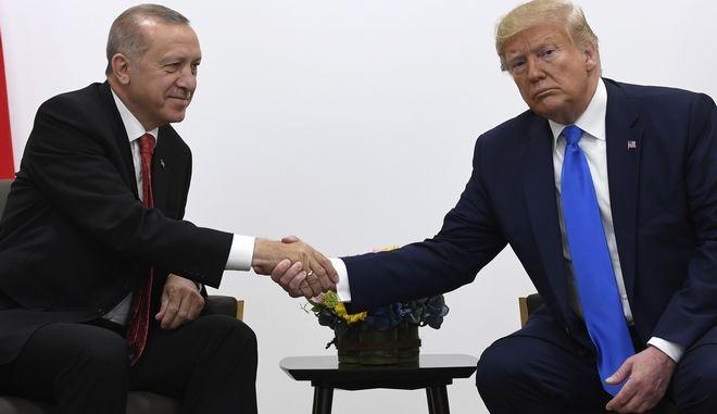 Ταγίπ Ερντογάν - Ντόναλντ Τραμπ