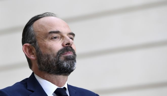 Ο γάλλος πρωθυπουργός Εντουάρ Φιλίπ