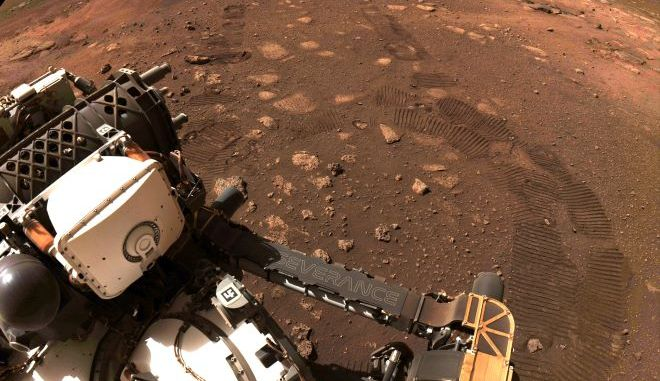 Η πρώτη διαδρομή του Perseverance rover στον Άρη