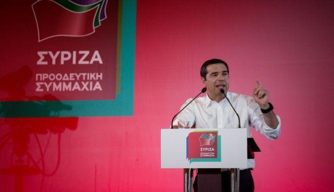 Ομιλία του πρωθυπουργού Αλέξη Τσίπρα στα Χανιά