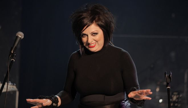 Η ηθοποιός Σοφία Μουτίδου