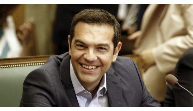 Ο Πρωθυπουργός Αλέξης Τσίπρας στην συνεδρίαση του Υπουργικού Συμβουλίου την Δευτέρα 18 Σεπτεμβρίου 2017. (EUROKINISSI/ΓΙΩΡΓΟΣ ΚΟΝΤΑΡΙΝΗΣ)