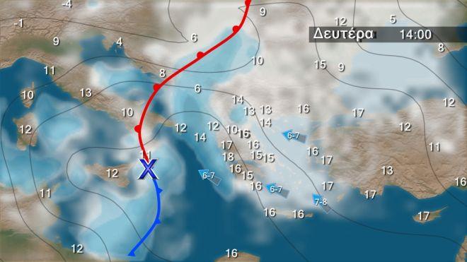 Καιρός: Σταδιακή βελτίωση από σήμερα - Υψηλές θερμοκρασίες το Σαββατοκύριακο