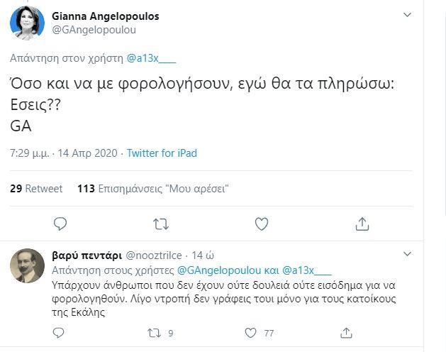Γιάννα Αγγελοπούλου: