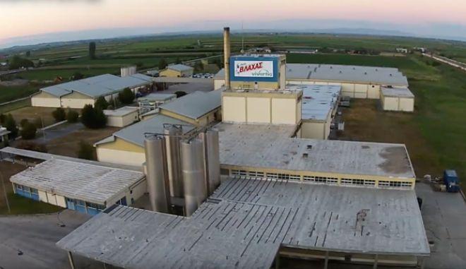 Το εργοστάσιο της ΔΕΛΤΑ για το Γάλα Βλάχας στο Πλατύ Ημαθίας