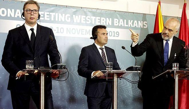 Οι τρεις ηγέτες σε προηγούμενη συνάντηση