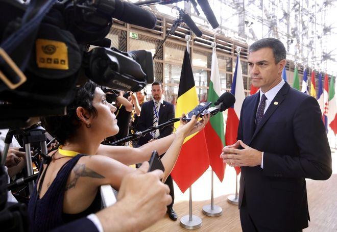 Ο πρωθυπουργός της Ισπανίας Πέδρο Σάντσεθ