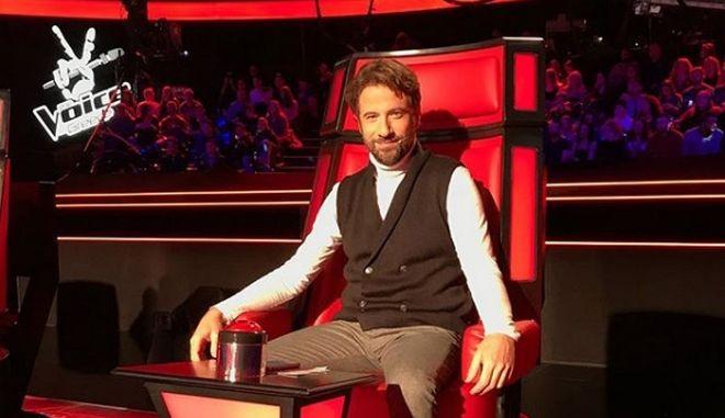 Ο Κωστής Μαραβέγιας ως κριτής στο The Voice