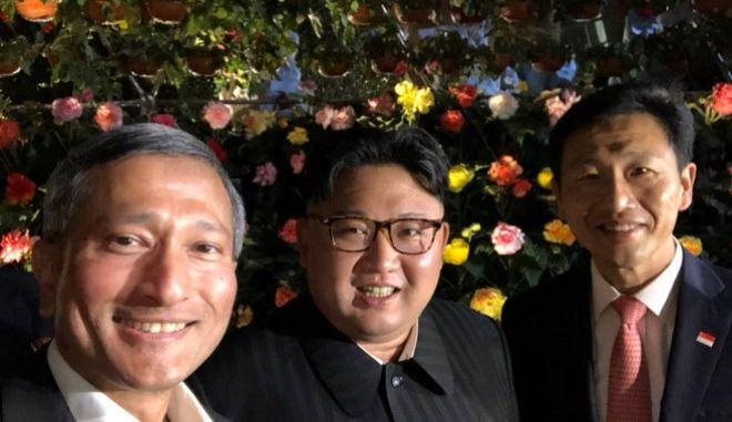 Η selfie του Κιμ Γιονγκ Ουν