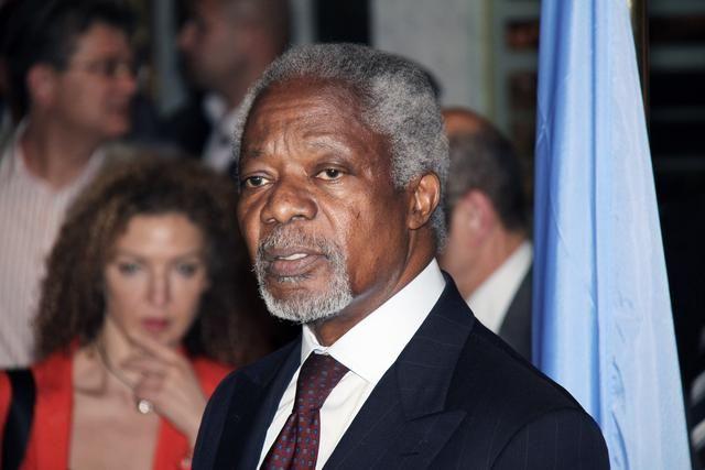 Ο Kofi Annan