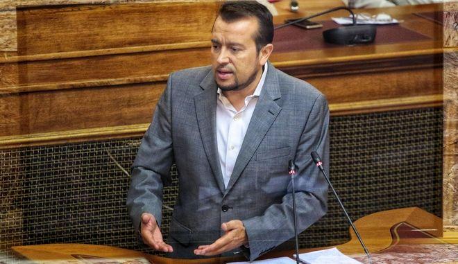 Ο υπουργός Ψηφιακής Πολιτικής, Τηλεπικοινωνιών και Ενημέρωσης, Νίκος Παππάς