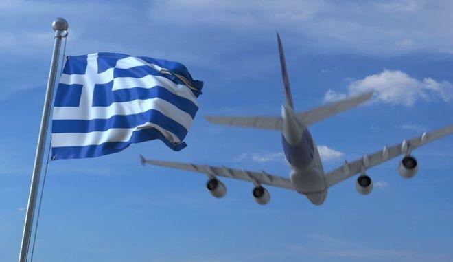Προσγείωση σε ελληνικό αεροδρόμιο