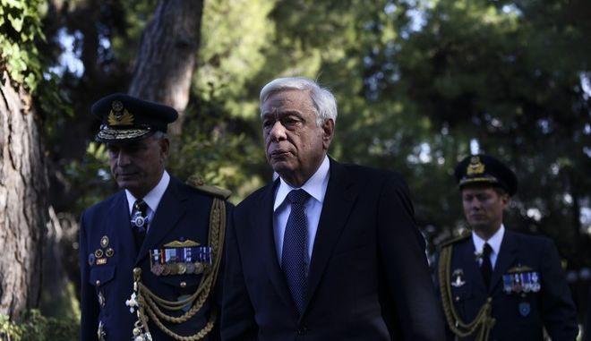 Funeral of the former Greek president Kostis Stephanopoulos in Athens, on Nov. 22, 2016 /        ,  ,  22 , 2016