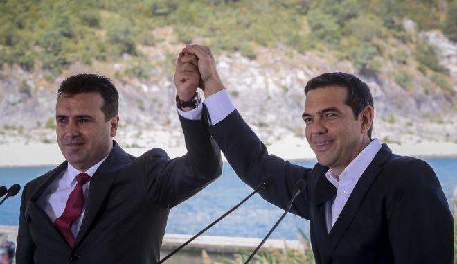 Υπογραφή της συμφωνίας για την ονομασία της πΓΔΜ