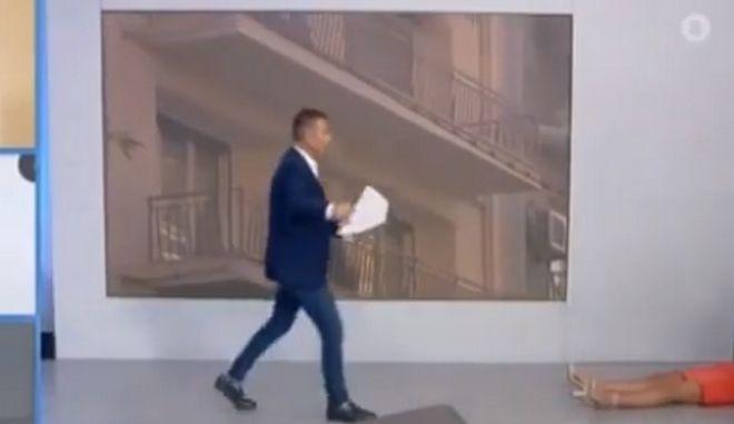 """Παρουσιάστρια του AΝΤ1 λιποθύμησε """"στον αέρα"""""""