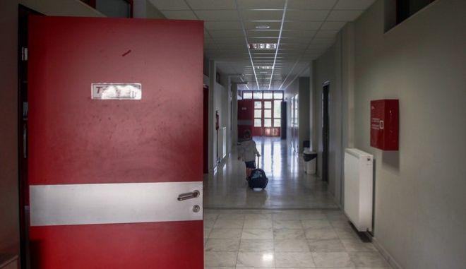 Διάδρομος νοσοκομείου