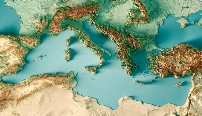 Μεσόγειος: Σοβαρή μείωση των βροχοπτώσεων μέχρι το τέλος του αιώνα