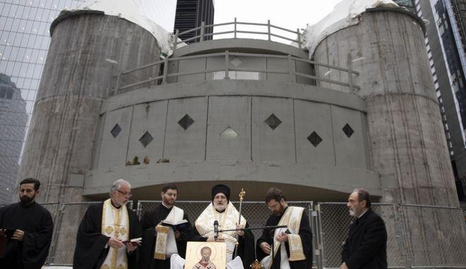 Ο Ιερός Ναός Αγίου Νικολάου στο Σημείο Μηδέν