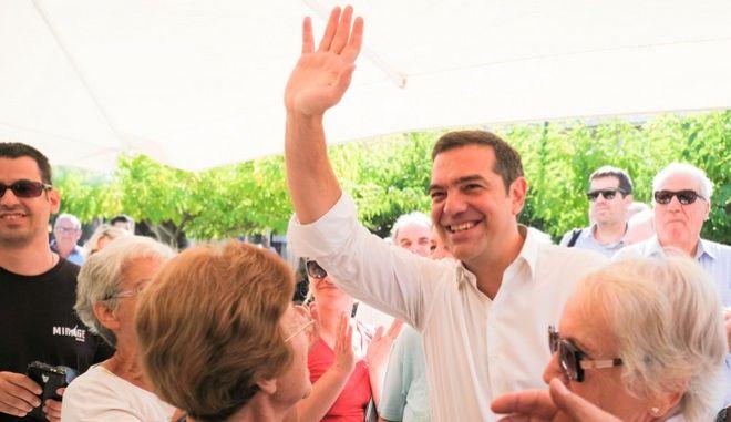 Περιοδεία του Προέδρου του ΣΥΡΙΖΑ, Αλέξη Τσίπρα, στην Αχαΐα.