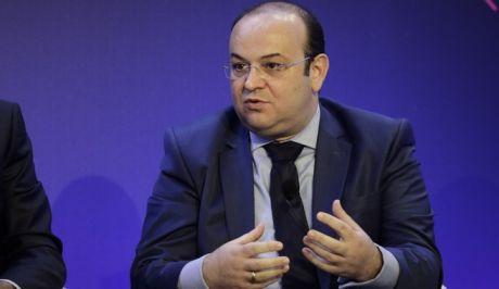 Ο υφυπουργός παρά τω πρωθυπουργώ Δημήτρης Λιάκος σε συνέδριο του ΣΕΒ