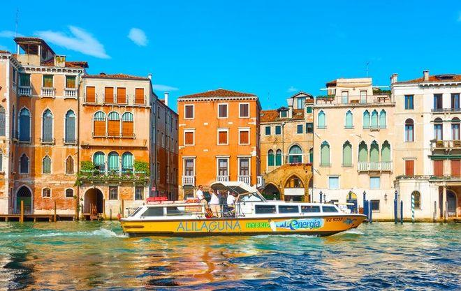 .Καράβι στην Alilaguna Βενετίας