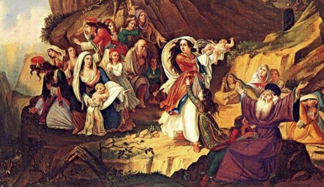 Σαν σήμερα ο Χορός του Ζαλόγγου