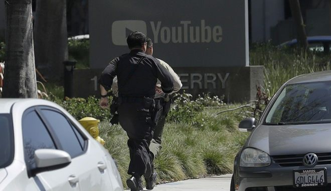 Επίθεση ενόπλου στα γραφεία του YouTube