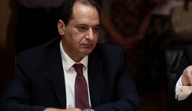 Ο τομεάρχης Προστασίας του Πολίτη του ΣΥΡΙΖΑ-ΠΣ, Χρήστος Σπίρτζης.