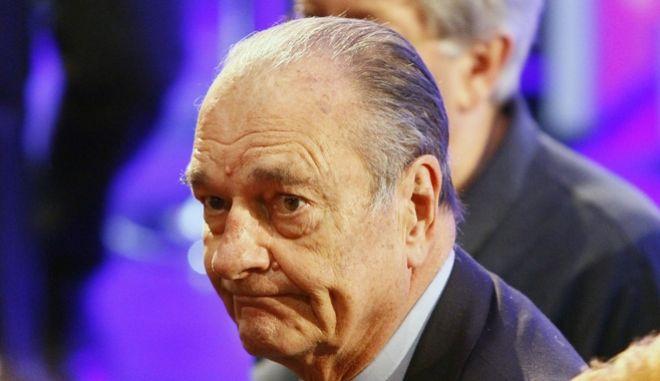 Ο Ζακ Σιράκ.