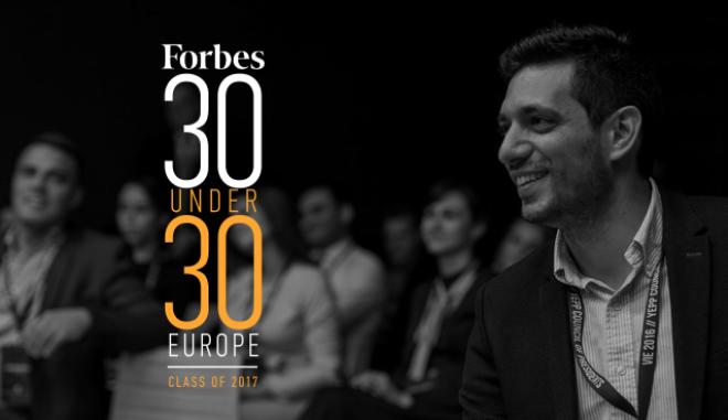 Ο Κώστας Κυρανάκης στους '30 under 30' του περιοδικού Forbes